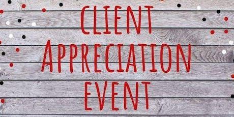 Client Appreciation tickets