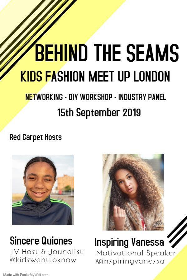 Kids Fashion Meet Up London