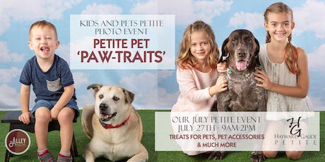 Petite 'PAW-Traits' Celebration, a Kids and Pets Photo Event! tickets