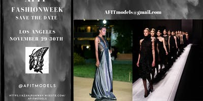 "AFIT FashionWeek ""The Gala"""