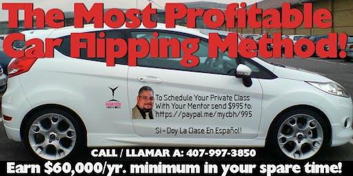 Tampa Extreme Car Flip Business - 4 Evening Crash Course