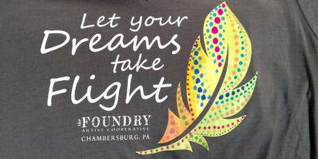 Color your Dream Feather tee tickets
