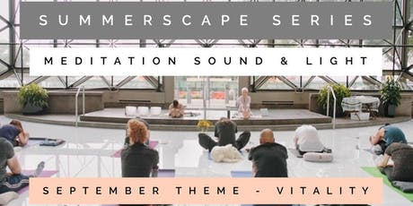 Summerscape Series: Meditation, Light & Crystal Bowl Healing |Vitality tickets