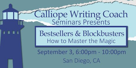 Bestsellers & Blockbusters: How to Master the Magic, San Diego tickets