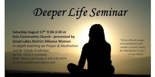 Deeper Life Seminar
