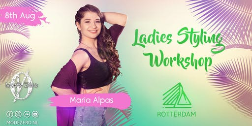 Ladies Styling Workshop in Rotterdam by Maria Alpas