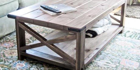 Build your own coffee table  tickets