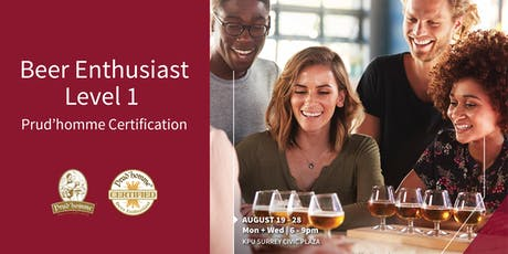 KPU Beer Enthusiast Level 1 Prud'homme Certification tickets