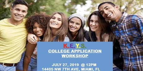 K.E.Y.S. COLLEGE APPLICATION WORKSHOP tickets