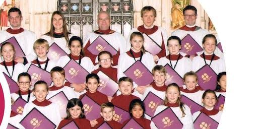 Konzert mit dem Ripon Cathedral Choir, North Yorkshire, Großbritannien