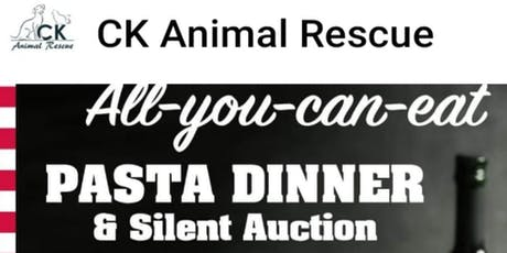 CK Animal Rescue All-you-can-eat Pasta Dinner & Silent Auction tickets
