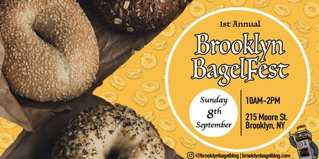 Brooklyn BagelFest (1st Annual) tickets