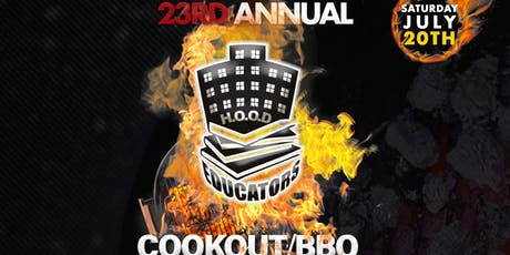 23rd Annual H.O.O.D Educators Cookout/BBQ tickets