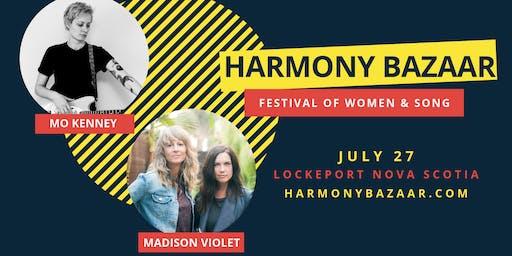 Harmony Bazaar Festival of Women & Song 2019