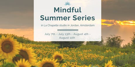 Mindful Summer Series tickets
