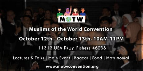 Muslims of the World Convention tickets