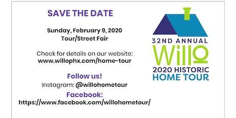 2020 Willo Historic Home Tour & Street Fair tickets