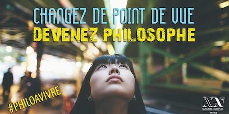 Atelier de Philosophie pratique, 1er atelier gratuit billets