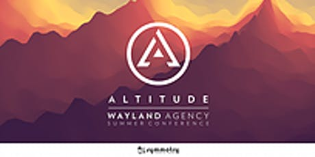 SFG Wayland Altitude Conference - Else Agency  tickets