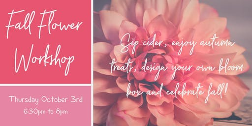 Silver Spring Md Floral Design Classes Events Eventbrite