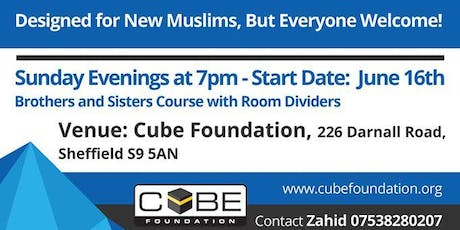 New Muslim Drop-in sessions tickets