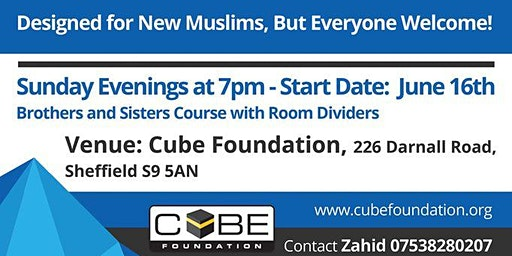 New Muslim Drop-in sessions
