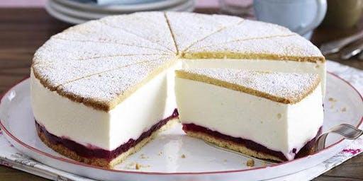 Saturday 10/5 Kaesesahne Torte