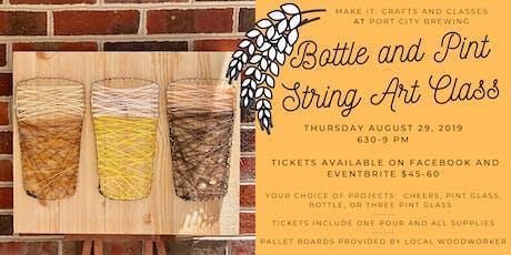 Port City String Art Class tickets
