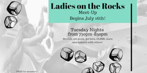 Women's Climbing Night at Central Rock Gym Rochester