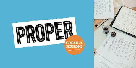 PROPER Creative Sessions // Modern Calligraphy tickets