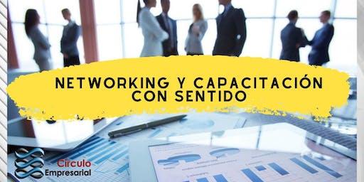 Networking y Capacitación  con Sentido