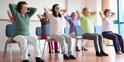 Tuesday Seated Pilates SEPTEMBER/OCTOBER - 8 week Term £72