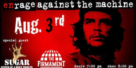 Enrage Against The Machine with Sugar (SOAD Tribute) tickets