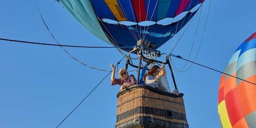 Fredericksburg Texas Hot Air Balloon Festival