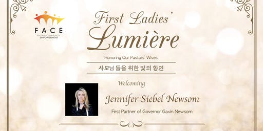 First Ladies' Lumière with Jennifer Newsom, First Partner of California