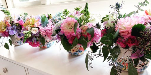 Floral Arranging for Two Workshop with Bethany