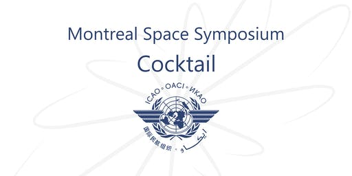 Montreal Space Symposium Cocktail 2019