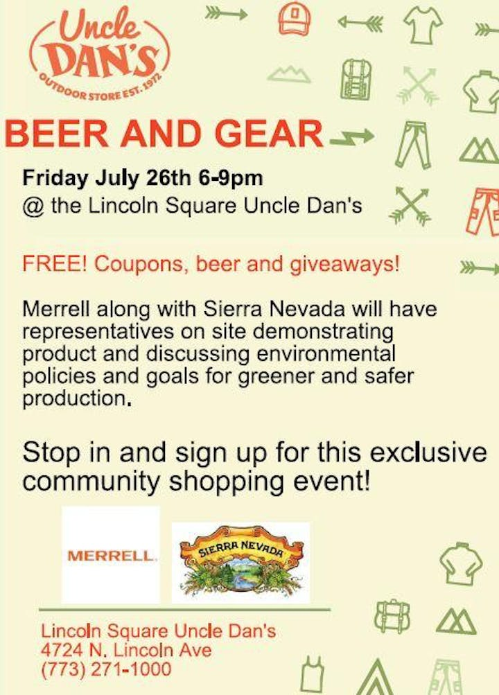 Beer and Gear - 26 JUL 2019