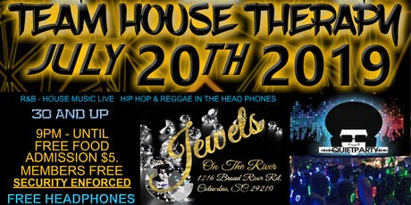 House Therapy @ Jewels on the River - Old School and House Music tickets