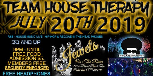 House Therapy @ Jewels on the River - Old School and House Music