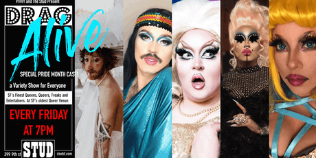 Drag Alive- Friday Drag Happy Hour tickets