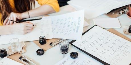 Beginners Modern Calligraphy Workshop Norwich tickets