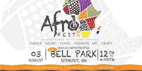Afrofest Sudbury 2019 tickets
