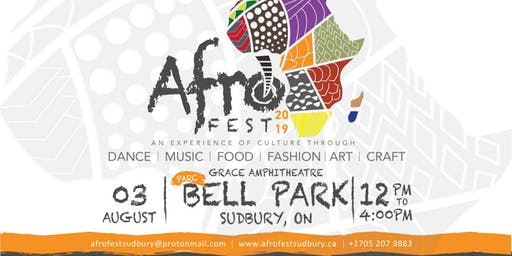 Afrofest Sudbury 2019