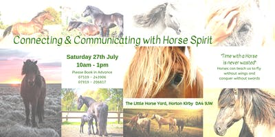 Connecting & Communicating with Horse Spirit
