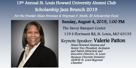 13th Annual St. Louis Howard University Alumni Club Scholarship Jazz Brunch tickets