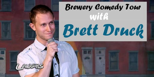 BREWERY COMEDY TOUR with Brett Druck in Mount Pleasant, SC