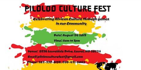 Piloloo Culture Fest tickets