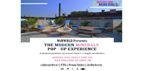 MODERN MiNERALS Pop-Up Experience tickets
