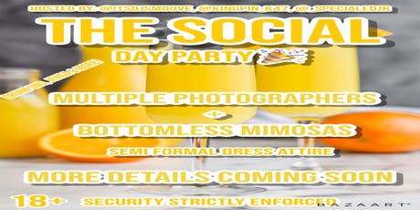 The Social Day Party tickets